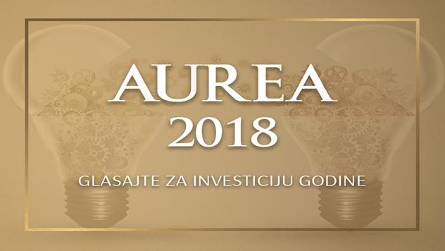 Nagrada za investiciju godine AUREA  - © AUREA