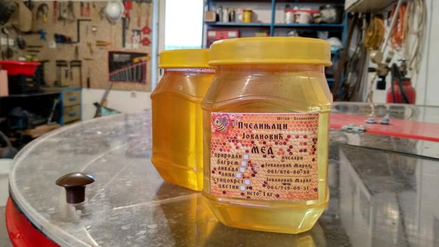 Tegle meda © Julijana Kuzmić