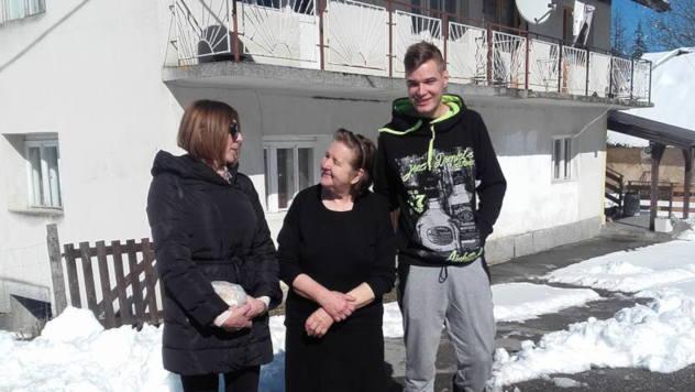 Nikola Končar sa porodicom @ Foto: Miroslav Mašić