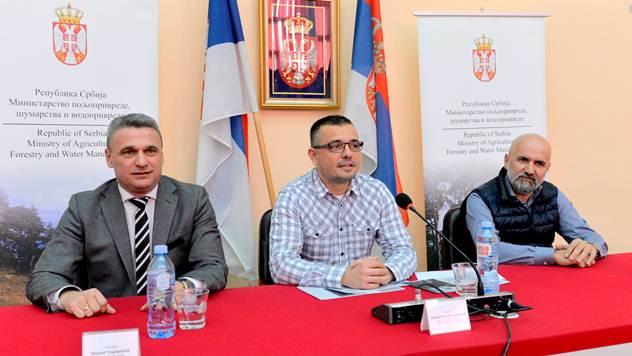 Ministar Nedimović - © Ministarstvo poljoprivrede, vodoprivrede i šumarstva