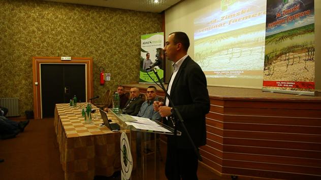 Pokrajinski sekretar Vuk Radojević © Agromedia