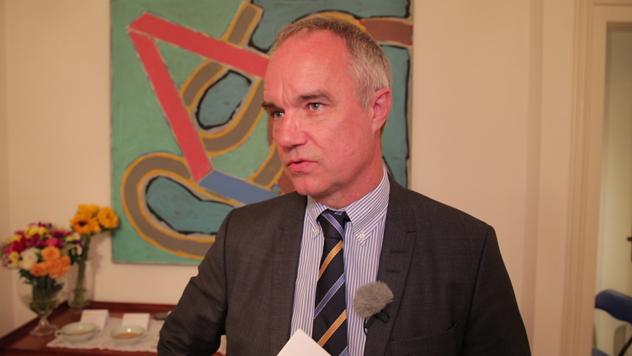 NJ. E. Jan Lundin, ambasador Švedske u Srbiji © Agromedia