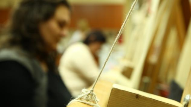 Tkanje pirotskog ćilima - ©Agromedia