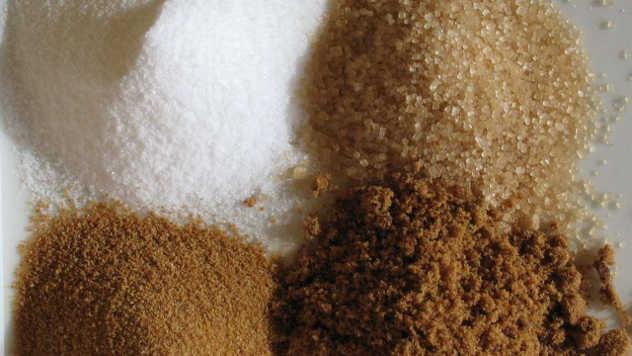 Razne vrste šećera - wikimedia.org