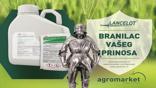 Herbicid Lancelot 450 WG za suzbijanje korova u strnim žitima