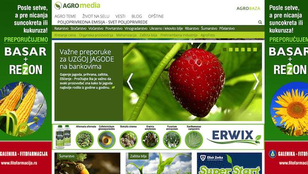 agromedia portal homepage