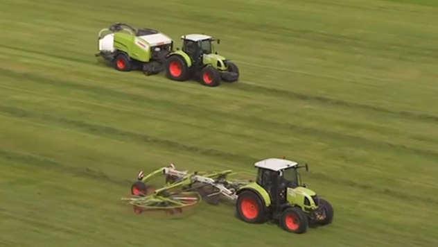 Claas traktori - iz arhive fotografija kompanije Almex