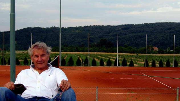 Časlav Maksimović u trenucima odmora - © Foto: Biljana Nenković