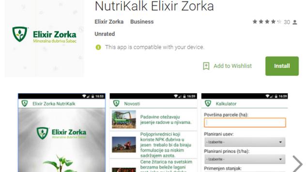 NutriKalk Elixir Zorka