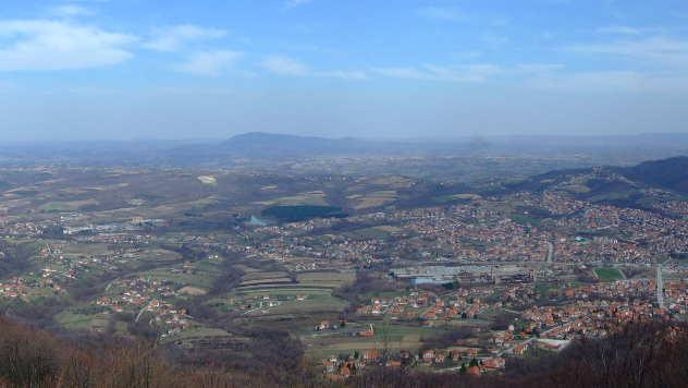 Aranđelovac, panorama - © Foto: Nikola Pantelić www.wikimedia.org