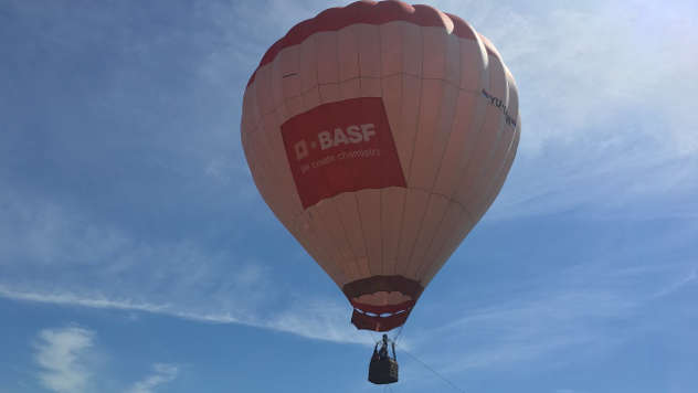 BASF balon - ©Agromedia
