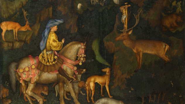 Sveti Jevstatije na konju
