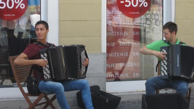 Harmonikaši - © Budimir Novović