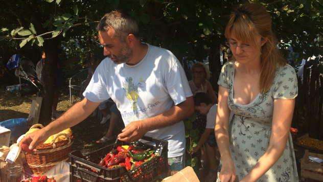 Tatjana i Zoltan Idei, proizvođači organske hrane - © Foto: Miha Ambrož