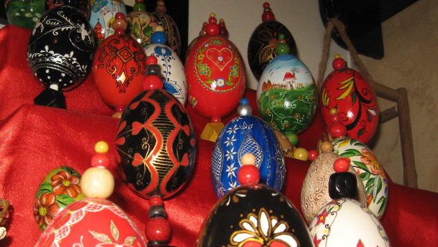 Suveniri - ukrašena jaja © foto: Biljana Nenković