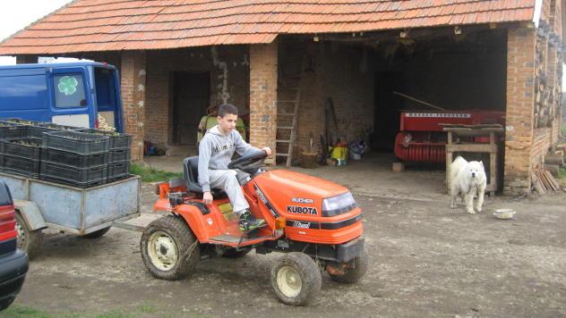 Traktor - © Foto: Biljana Nenković