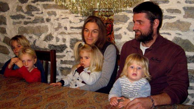 Porodica Gajić-Šonenberger - © Foto: Biljana Nenković