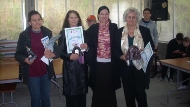 Dobitnice nagrada sa Jelenom Vukazić, direktorkom TOG Požarevac © Foto: Elena Marjanović