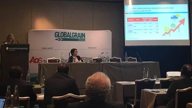 Prezentovanje na forumu Global Grain - © Udruženje Žita Srbije