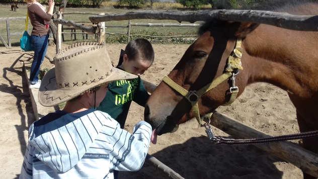 Deca sa konjem - © Foto:Gordana Simonović Veljković
