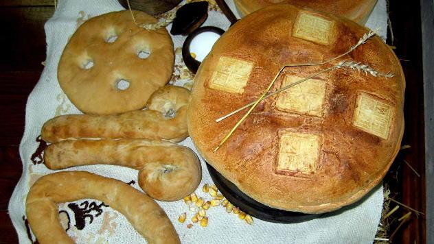 Figuralni hlebovi © foto: Biljana Nenković
