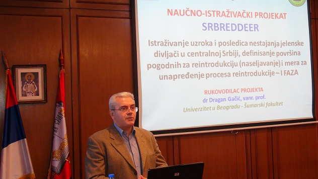 Dragan Gačić, Šumarski fakultet u Beogradu - © Foto: Ljiljana Pavlović