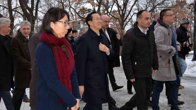 Delegacija Kine i Srbije u poseti Topoli - © Foto: Biljana Nenković