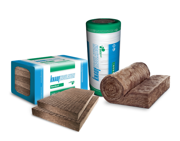 Proizvodi kompanije Knauf Insulation - © Knauf Inslulation