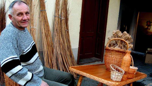Zoran Antić, korpar iz Belušića - © Foto: Biljana Nenković