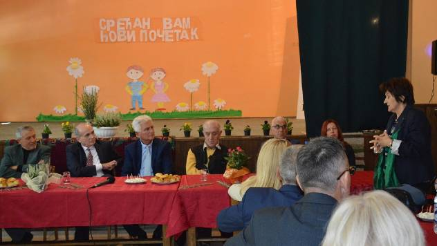 Nacionalni tim i ministar Milan Krkobabić u poseti Banatu - © Vlada Republike Srbije