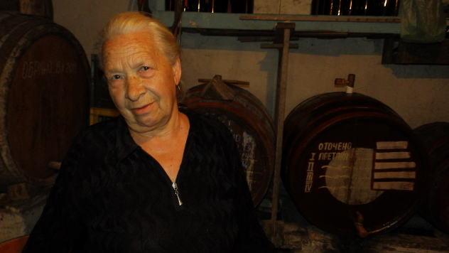 Mirjana  Gospavić u svom podrumu © Foto: Gordana Simonović Veljković