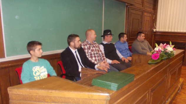 Mladi poljoprivrednici za katedrom poljoprivrednog fakulteta - foto: Petar Kocić