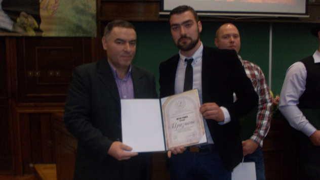 Novinar Slaviša Dabižljević i Petar Rakić - foto: Petar Kočić