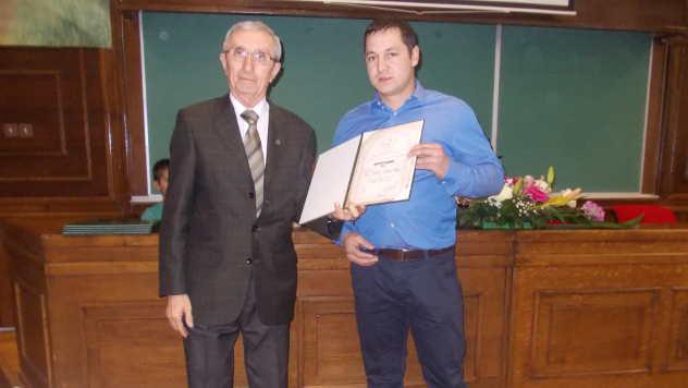 Prof dr Branko Marinković i Kornel Kopas - foto: Petar Kočić