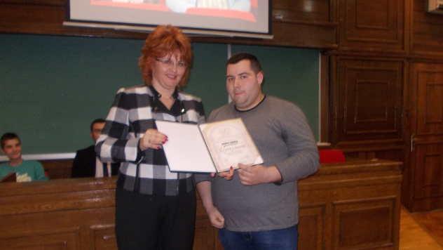 Prof dr Dragana Latković i Daniel Došlja - foto: Petar Kočić