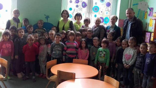 Deca iz vrtića Pčelica iz Mihajlovca - © Foto: Snežana Glišić