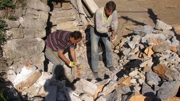 Usitnjavanje kamena- © Agromedia