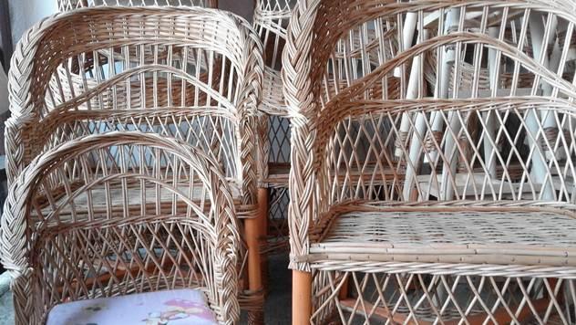 Stolice od pruća - © Danijela Jovanović