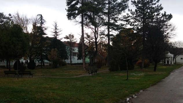 Dvorište poljoprivredne škole u Požarevcu - © Foto: Goran Despotović