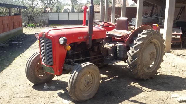 Traktor IMT 539 - © Julijana Kuzmić