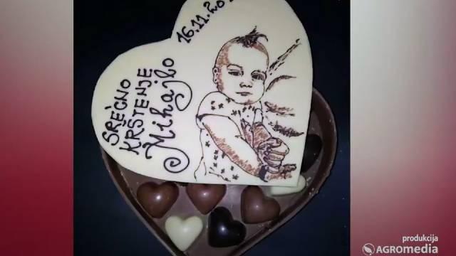 Crtanje na čokoladi - nova umetnost u poslastičarstvu! - ©Agromedia