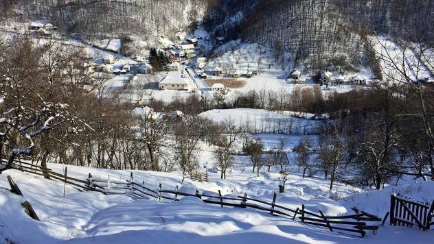 Dulene - panorama zimi © Foto: Biljana Nenković