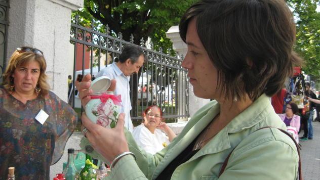 Prodaja suvenira © foto: Biljana Nenković