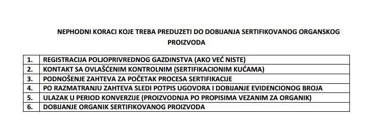 Kako do sertifikata za organsku proizvodnju - © Dušan Čolovejić