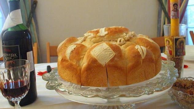 Slavski kolač - foto: Nebojša Marković