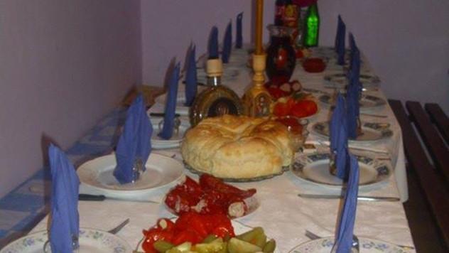 Zaplanjska slavska trpeza - foto: Ljiljana Grozdanović