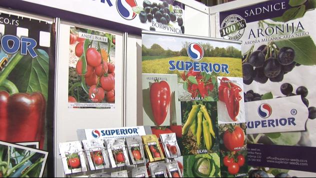 Štand Superiora na Sajmu poljoprivrede - ©Agromedia