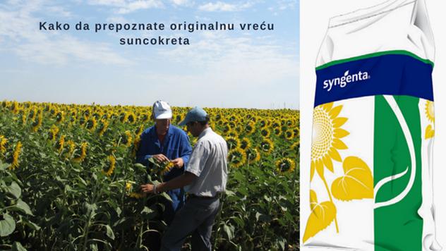Kako da prepoznate originalnu vreću suncokreta - © Syngenta