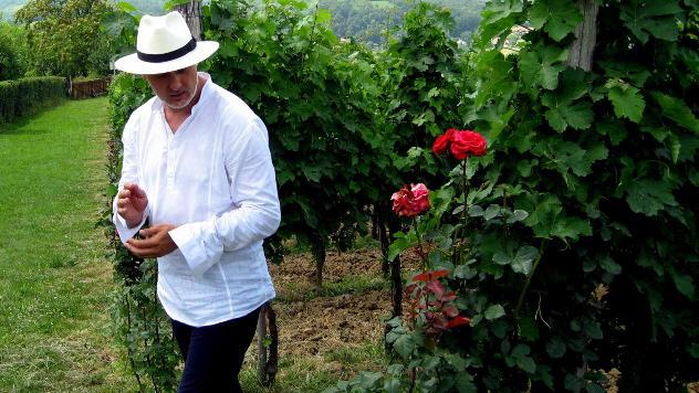 Saša Novaković, vinogradar iz okoline Kragujevca © foto: Biljana Nenković