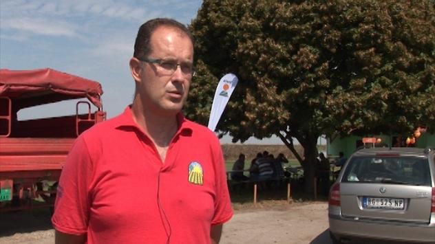 Bogdan Garalejić iz Poljoprivredne stručne savetodavne službe Pančevo - ©Agromedia